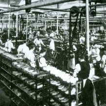Inside Daventry Factory