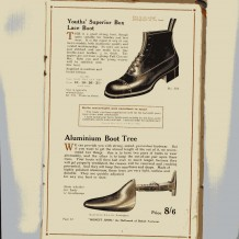 Drage 'Honest John' boot and shoe range 2