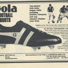 Botterills / Gola Football Boots